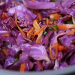 Cabbage & Carrot Salad